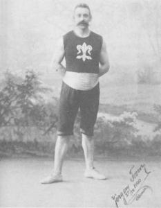 Friidrettsutøver Jørgen From år 1900